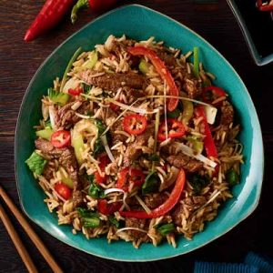Chinese Beef One Pot